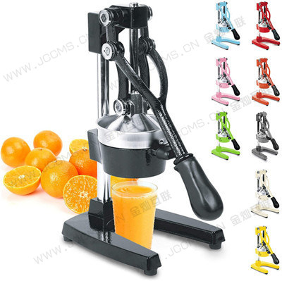 Professional Citrus Juicer - Manual Citrus Press and Orange Squeezer - Metal Lemon Squeezer - Premium Quality Heavy Duty Manual Orange Juicer and Lime Squeezer Press Stand